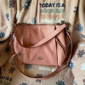 Adorable pink Coach bag